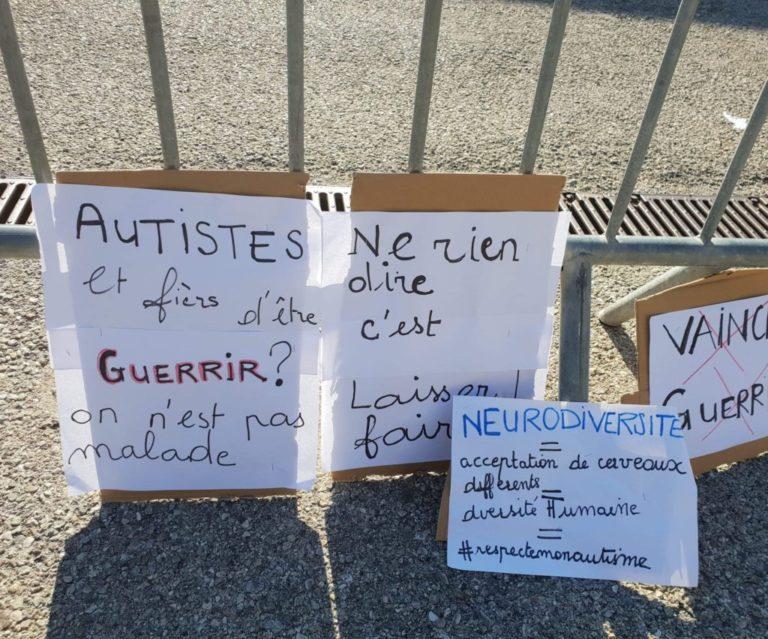 Action à Antibes contre les régimes alimentaires et Son-Rise