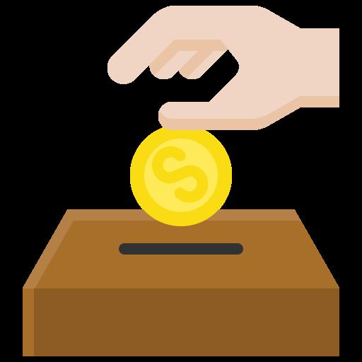 Fais un don financier en donnant de l'argent par carte bancaire ou par virement bancaire.