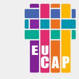 Logo de eucap, un ensemble de carrés colorés et de rectangles.