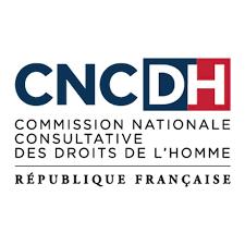 CNCDH Commission nationale consultative des droits de l'homme. Republique Française